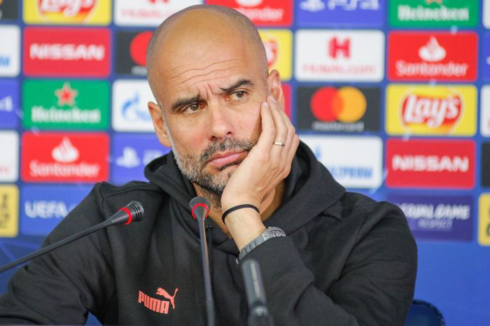 Liga Mistrzów. Pep Guardiola po wygranej z Borussią Dortmund.