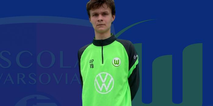 Talent opuszcza Escolę Varsovię. Zagra teraz w VfL Wolfsburg