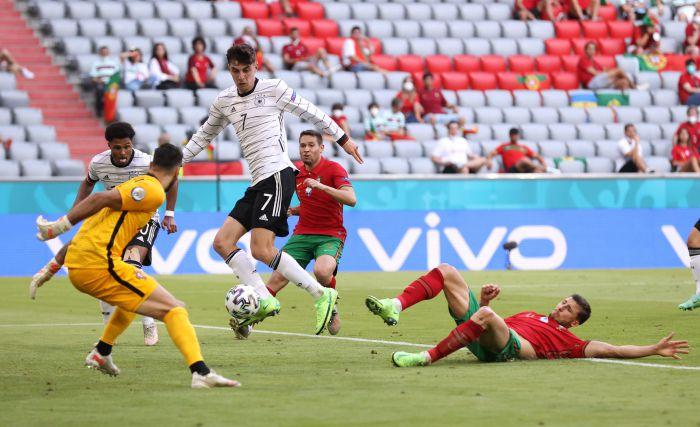 6 goli w hicie Euro 2020. Niesamowity mecz reprezentanta Niemiec, ale to Portugalczycy przechodzą do historii