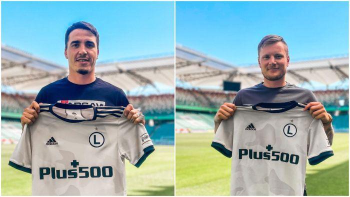 Legia ogłosiła dwa kolejne wzmocnienia. Mistrz Polski zbroi się na el. Ligi Mistrzów