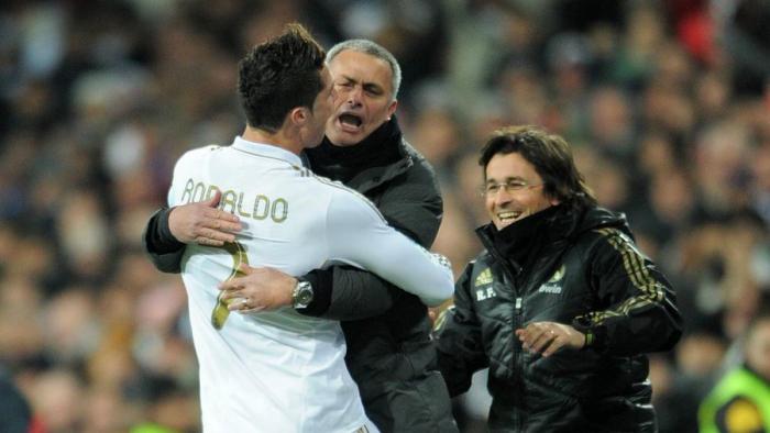 Jose Mourinho o transferze Cristiano Ronaldo.