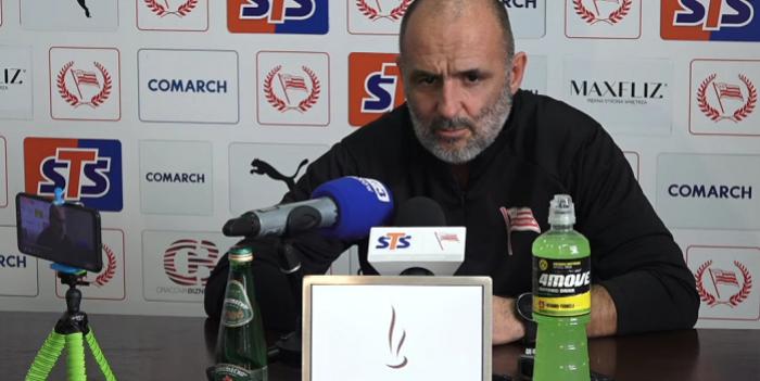 Michał Probierz po zwycięstwie Cracovii z Piastem Gliwice: Musimy wygrywać i dołączyć do czołówki