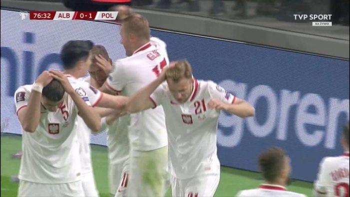 Skandal w Tiranie. Mecz Albania - Polska przerwany po golu Biało-Czerwonych (VIDEO)