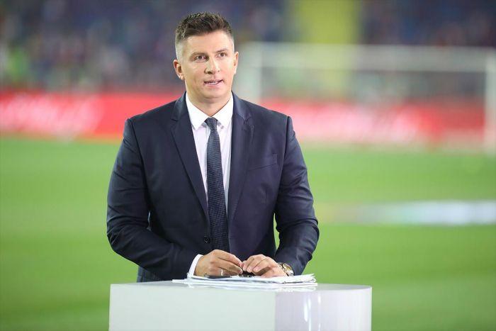 Mateusz Borek i Kazimierz Węgrzyn oszaleli po bramce Karola Świderskiego w meczu z Albanią (VIDEO)