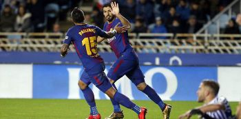 Barcelona od 0:2 do 4:2! Kolejny gol Paulinho, popis Suareza i Messiego (VIDEO)